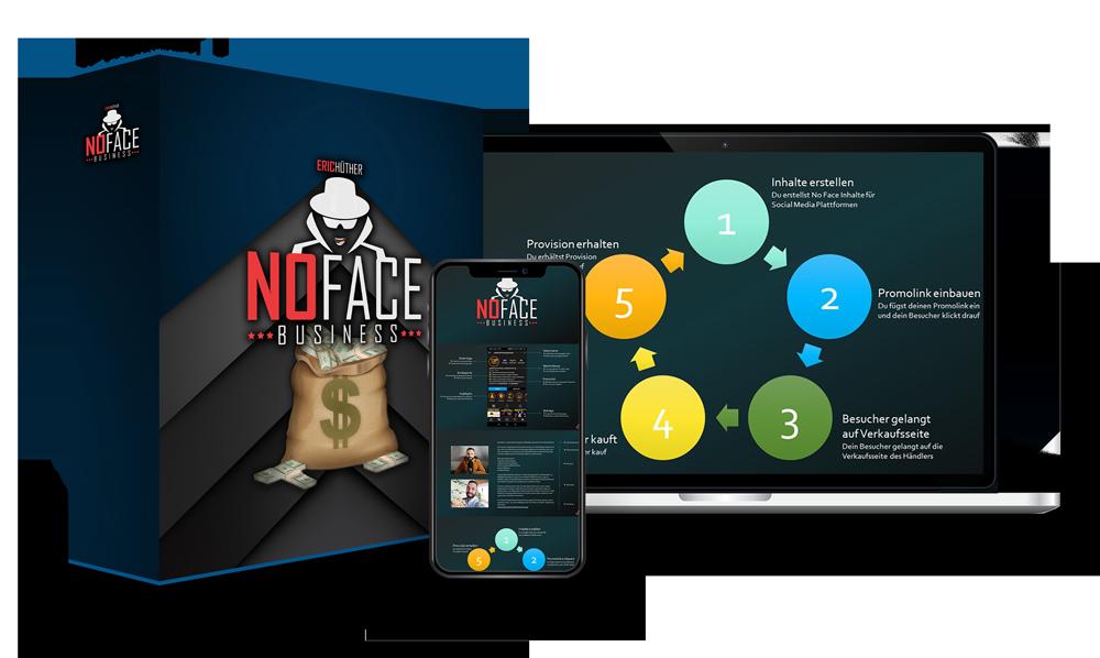 Leg los mit dem No Face Business